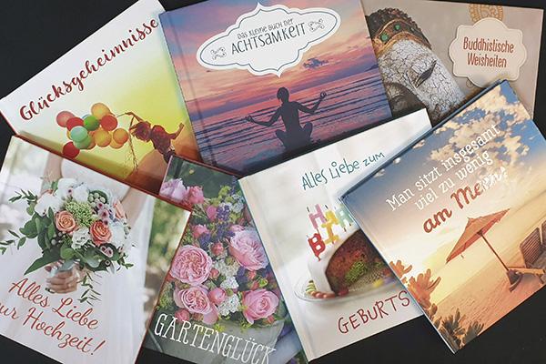 Daily Work: Geschenkbücher für den Korsch Verlag